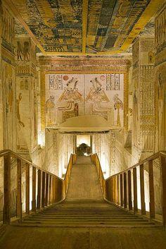 alquimia-interior:    Tomb of Ramesses VI, Egypt.