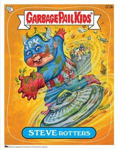 Comic-Con Exclusive GARBAGE PAIL KIDS Card Set (More at link.)