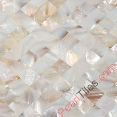 Natural Freshwater Mother Of Pearl Mosaic Tiles