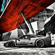 BADASS Carbon Fibre Ferrari F40