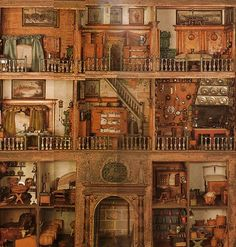 One of the oldest dollhouses currently intact (1693)
