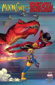 Moon Girl and Devil Dinosaur Guest-Starring Riri Williams, Ironheart! There's room for two young, black, gifted girls in the Marvel U, isn't there? Marvel E Dc, Marvel Heroes, Marvel Universe, Marvel Women, Marvel Comic Character, Marvel Characters, Iron Heart Marvel, Gi Joe, Comic Books Art