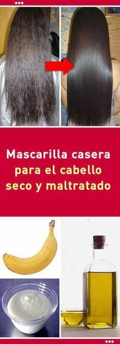 #mascarilla #cabello #pelo #seco #maltratado