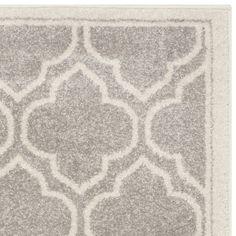 Vienna Light Gray & Ivory Indoor/Outdoor Area Rug & Reviews | Joss & Main