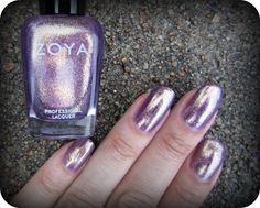 Concrete and Nail Polish: Zoya Daul