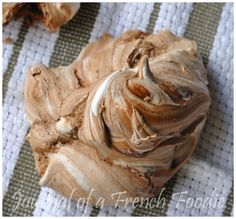 Gorgeous Chocolate Swirl Meringues made with Thermomix by our French Foodie friend in Dublin. Not just pretty -- these are simple too!