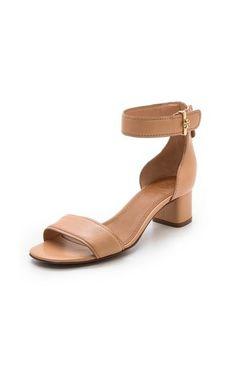 Tory Burch Tana Low Heel Sandals via StyleList