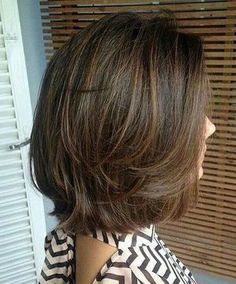 Short Haircuts and Hairstyles for Thin Fine Hair for Older Women Over 50 Over Short Haircuts and Hairstyles for Thin Fine Hair for Older Women Over 50 Over 60 for thin hair fine over 50 styles for women layered bobs length hair cuts Short Layered Haircuts, Layered Bob Hairstyles, Bob Hairstyles For Fine Hair, Cool Hairstyles, Haircut Short, Women's Haircuts Medium, Medium Layered Bobs, Brown Hairstyles, Trending Hairstyles