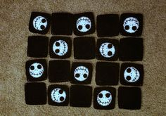 The Nightmare Before Christmas is such a classic holiday movie. We watch it over and over all season long! What better way to enjoy the season than wrapped up in a fun Jack Skellington blanket! Because it's seasonal, I didn't make this blanket very large. It's more of a lap blanket. The perfect size for …