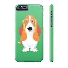 Basset Hound Phone Case