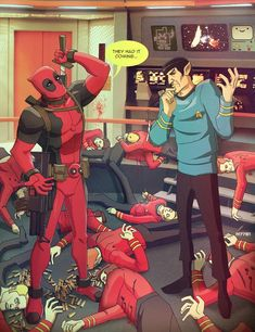 Deadpool & Spock