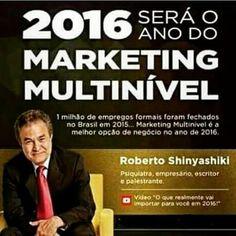 AMANDICA INDICA... e dá dicas!!!: 2016 será o ano do Marketing Multinível - seja voc...