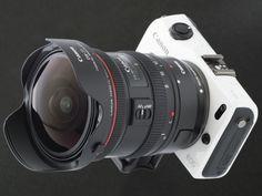 Canon EOS M + EF 8-15mm Fisheye