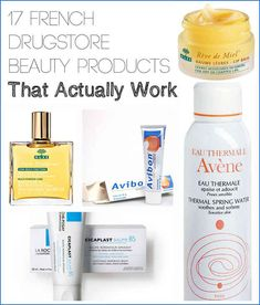 French Drugstore Beauty Products That Actually Work We do love the Thermal Water! via 17 French Drugstore Beauty Products That Actually WorkWe do love the Thermal Water! via 17 French Drugstore Beauty Products That Actually Work Diy Beauty, Beauty Makeup, Beauty Hacks, Drugstore Beauty, Beauty Care, Belleza Diy, Tips Belleza, Beauty Photography, Maybelline