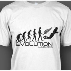 All Blacks Rugby Evolution T-Shirt