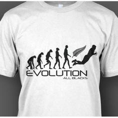 All Blacks Rugby Evolution T-Shirt