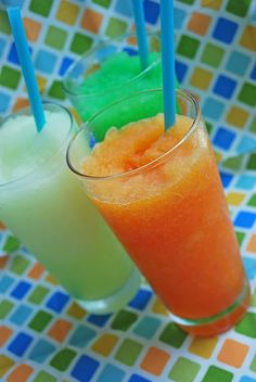 Kool aid slushies I'm making these right now! They're in the freezer can't wait to try them!