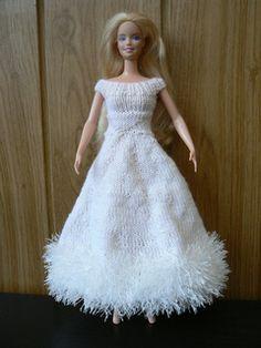 0147 Knit Barbie Dress
