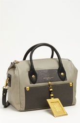 MARC BY MARC JACOBS 'Preppy Colorblock - Pearl' Leather Satchel