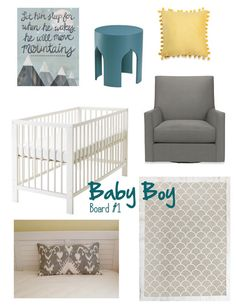 colors:  Baby Boy Nursery Inspiration | Making Macy