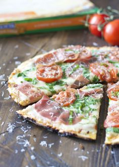 Loaded Veggie And Prosciutto Pizza Recipe — Dishmaps