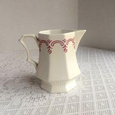 Ironstone China crémier / pichet Miniature par vintagepoetic