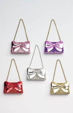 Nordstrom at Home 'Glitter Bow Clutch' Ornament available at #Nordstrom