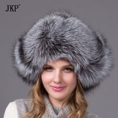 6c125294543 Bomber real fur hat for women winter fox raccoon fur hat waterproof cloth  fashion leather hat female ear protector cap Price history.