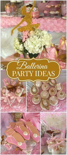 DIY Ballerina Birthday Party Ideas Ballerina Party Ideas