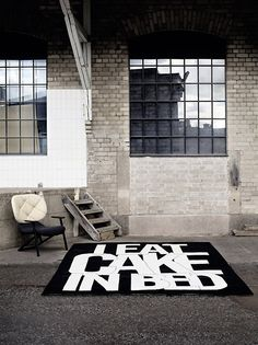 TheDesignerPad -  Carpets With aMessage