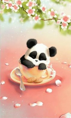 36 Best Panda Wallpapers Images On Pinterest