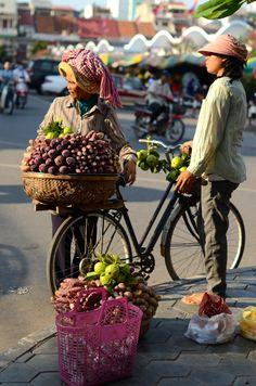 Central Market . Phnom Penh, Cambodia