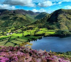 Buttermere, Cumbria, by High Peak and Lowland:  https://www.flickr.com/photos/jim_ennis/