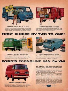 1964 Ford Truck Ad