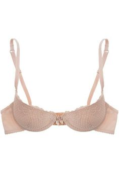 """The Best Bras For Small-Chested Women #refinery29  http://www.refinery29.com/bras-for-small-breasts#slide-2  """"A lot of padded bras out there have very little support in the back, which causes the riding-up effect,"""" Lau explains. A general rule of thumb for discerning shoppers: """"The more padded a bra is, the more support there should be in the sides and back."""" - attractive lingerie, intimates for women, teddy lingerie *ad"""