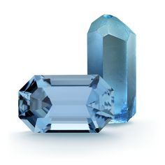 Aquamarine is a variety of the mineral beryl that can be blue or greenish-blue.