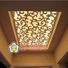 Exquisite simplicity pattern carved ceiling exquisite pattern cut MDF board cut off porch walls made