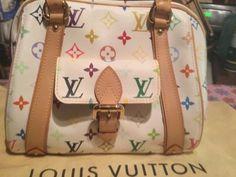 NWT Louis Vuitton White Multicolore Priscilla…