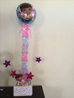 Doc Mcstuffins 3rd Birthday Party centerpiece/decorations