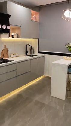 Kitchen Ceiling Design, Kitchen Room Design, Modern Kitchen Design, Home Decor Kitchen, Interior Design Kitchen, Kitchen Furniture, Furniture Design, Kitchen Ideas, Kitchen Cupboard Designs