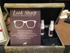 Look Sharp: clean your glasses at #SacoorBrothers #services #fashion