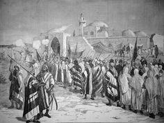 Terre sainte - Un pélrinage au tombeau de Moïse, Mars 1879