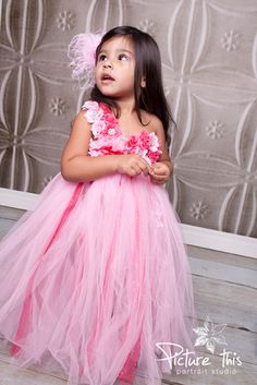 Hey, I found this really awesome Etsy listing at https://www.etsy.com/listing/180540192/pink-tutu-dress-flower-girl-dress-flower