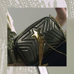 We're eyeing this Stella Star Small Shoulder Bag. The new signature Stella Star is a modern quilted bag crafted from soft Alter-Nappa a Spring must-have adding urban sophistication to any outfit. Camera style bag with dual wearability straps: shoulder and cross body. Also features laser cut quilted star design and brushed gold star hardware. #stellamccartney #ad #BazaarLovesFashion via HARPER'S BAZAAR INDONESIA MAGAZINE official Instagram - #Beauty and #Fashion Inspiration - Beautiful…