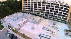 House Park Austin BMX & Skate Park - Drone Video - YouTube