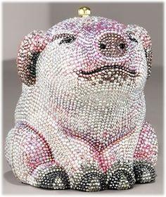 Piggy clutch - bling bling bling !!!