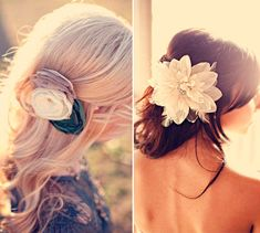 Natural and Elegant Bridal Wedding Hair Styling with Pretty Accessories