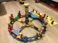 Activities For Kids, Crafts For Kids, Diy Crafts, Lego Christmas Ornaments, Gallery Wall Shelves, Lego Duplo Train, Lego Projects, Toy Rooms, Diy Toys