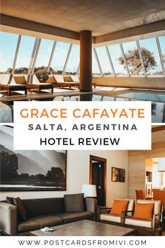 Grace Cafayate Hotel, a luxurious stay in Salta - Postcards From IvI Outdoor Swimming Pool, Swimming Pools, Villas, Oahu, Bangkok, Big Living Rooms, Most Luxurious Hotels, Hotel Services, Hotel Staff
