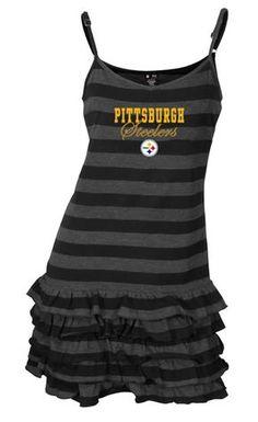 344f49e8e Pittsburgh Steelers Women s Nostalgia Nightgown Steelers Gear